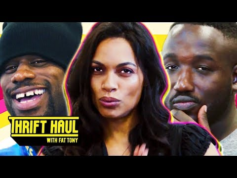 , title : 'Delivering Food to Rosario Dawson's House ft. Hannibal Buress and Jamar Neighbors | Thrift Haul'