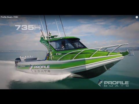 Profile Boats 735H Aluminium Fishing Plate Boat Australia NZ