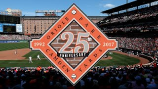 Oriole Park 25th anniversary season 2017 schedule