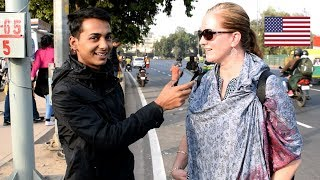 ASKING FOREIGNERS ABOUT THEIR BEST AND WORST EXPERIENCE IN INDIA || XENOPHILES