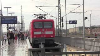 preview picture of video 'Magdeburg Hauptbahnhof, Saxony-Anhalt, Germany - 8th November, 2013'