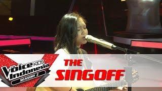 "Kesha ""All I Want"" | Sing Off | The Voice Kids Indonesia Season 2 GTV 2017"