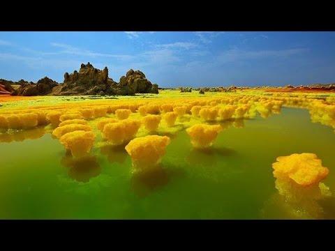 Вулкан Даллол, Эфиопия.