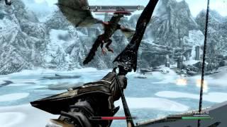 Skyrim - Восларум и Насларум (бой без пауз)