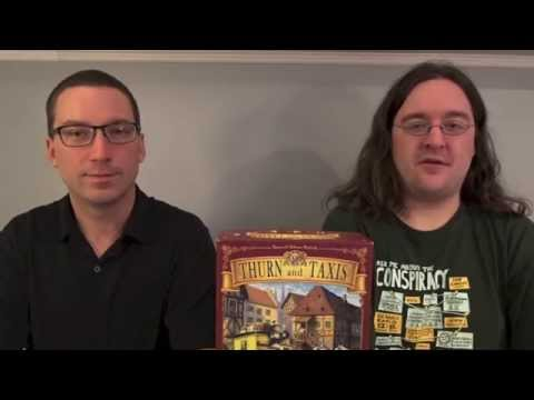 Object of the Game: Thurn & Taxis - How to Play w/ Partial Playthrough