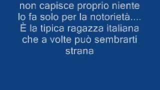 Dj matrix - La tipica ragazza italiana + testo