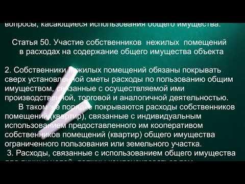 Статья 37. Собственники нежилых помещений: магазин, кафе, мастерская, контора и тому подобное