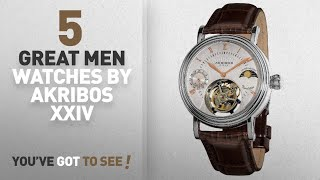 Top 10 Akribos Xxiv Men Watches [ Winter 2018 ]: Akribos XXIV Men's AKR493SSBR Limited Edition