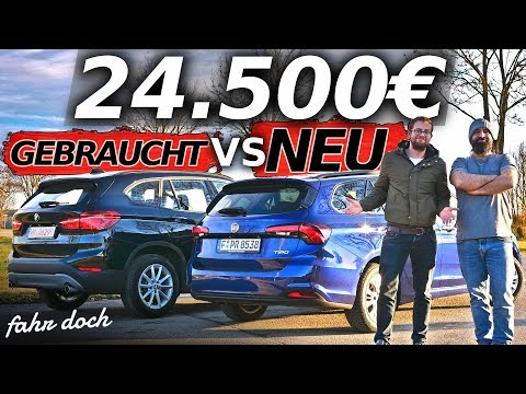 FIAT TIPO 1.6 MultiJet vs BMW X1 20d Xdrive | GEBRAUCHT oder NEU? Review und Fahrbericht | Fahr doch