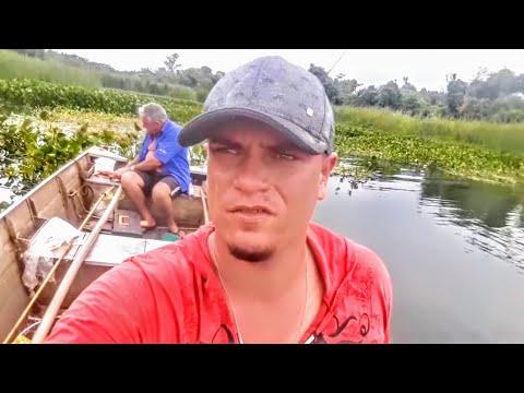 Pescaria Rio Tietê em Arealva Deu piranha e traíra