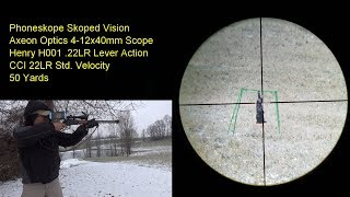 1st Look at The Axeon Optics 4-12x40mm Scope Henry 22 Rifle