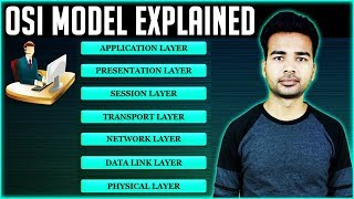 OSI Model Layer Explained Step by Step   How does it works, it's functions and protocols   2018