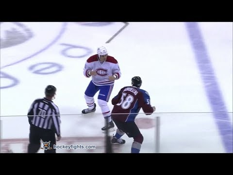 George Parros vs Patrick Bordeleau