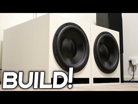 DIY LOUD SUBWOOFER BOX BUILD!