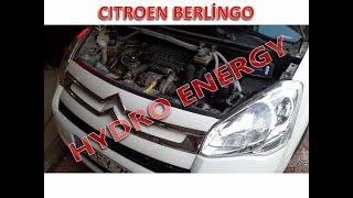 Citroen berlingo 1.6 dizel hidrojen yakıt tasarruf sistem montajı