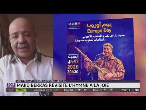 L´artiste marocain Majid Bekkas revisite l´hymne à la joie