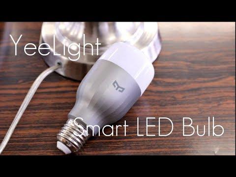 Affordable Smart Bulbs? – Xiaomi Yeelight Smart LED Light Bulbs – Review / Demo