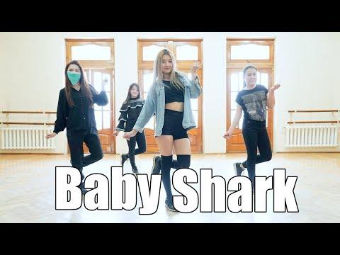 Baby Shark (Trap Remix) | Choreography Akusya Beginner Group | Fam Entertainment