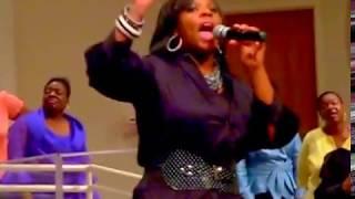"9.21.2017: #TBT Nakitta Foxx singing, ""God Blocked It"" with Kurt Carr in 2009..."