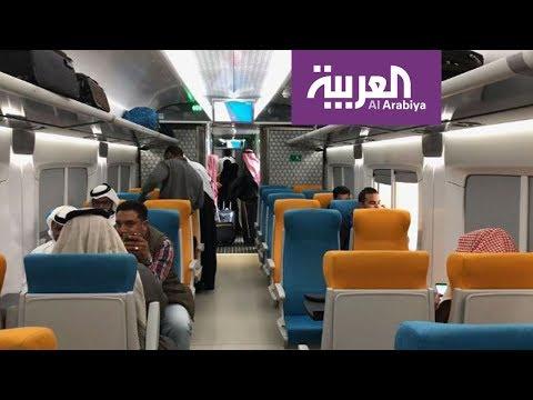 العرب اليوم - شاهد:ارتفاع رُكّاب قطارات السعودية بنسبة 139%