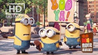 Minions   FIRST LOOK clip (2015) Stuart Kevin Bob Despicable Me