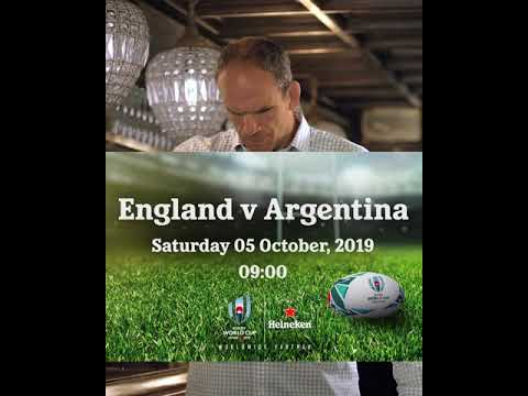 England v Argentina October 5th 9am