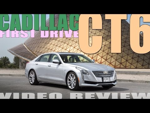 CADILLAC CT6 – LIKE A BOSS! First Drive at Abu Dhabi launch