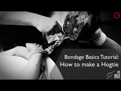 Bondage Basics Tutorials: The Hogtie