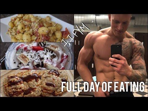 Heftigste FITNESS-REZEPTE I Full Day of Eating (IIFYM) I SCHMALE SCHULTER