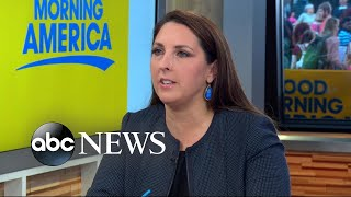 RNC chairwoman reacts to Charlottesville violence, Trump