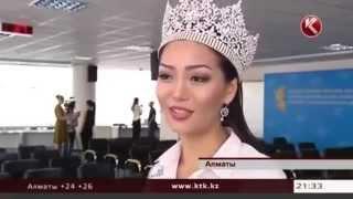 Смотреть онлайн Мисс Казахстан 2013 не может выразить свою мысль