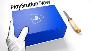 Unboxing PLAYSTATION NOW Press Kit - PS2, PS3, PS4 games on PC! (Gameplay Review)