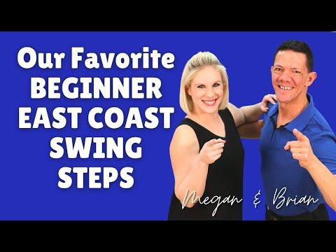 How to Swing Dance for Beginners | East Coast Swing Basics Steps