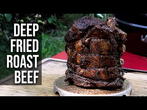 Deep Fried Roast Beef by the BBQ Pit Boys