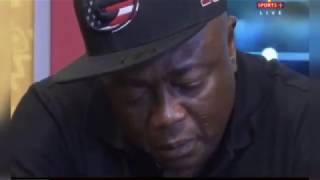 Abedi Pele weeps on TV after meeting the man who discovered him