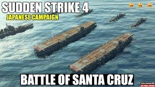 Sudden Strike 4 The Pacific War DLC   Japanese Campaign   Battle of Santa Cruz