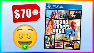 GTA 6 Will Cost $70 When It Releases On PS5 And Xbox Series X....Main Character Rumors & MORE!