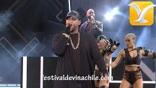 Don Omar -  Guaya Guaya/Hasta abajo - Festival de Viña del Mar 2016 HD