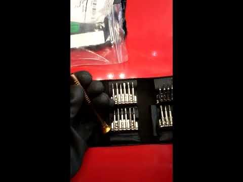 Unboxing...DANIU 25 in 1 Multi-purpose Precision Screwdriver ...