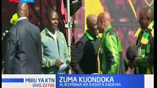 Mbiu ya KTN: Jacob Zuma kuondoka