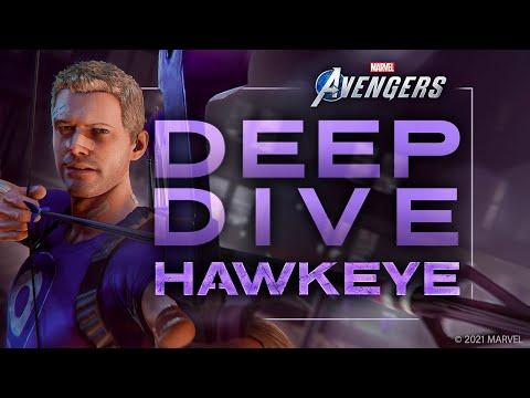Présentation de Hawkeye, nouveau perso additionnel de Marvel's Avengers