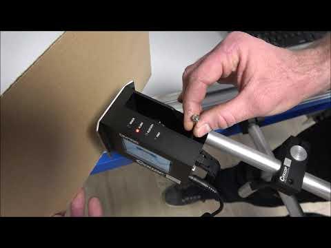CM 100: Afstellen interne fotocel