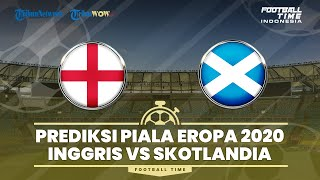 Prediksi Starting Line Up Piala Eropa 2020 Grup D: Inggris VS Skotlandia