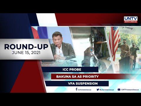 [UNTV]  UNTV NEWS ROUNDUP: Mga balitang dapat mong malaman (June 15, 2021)
