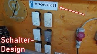 Schalterdesigns von Busch-Jaeger