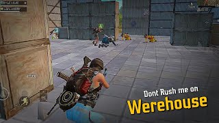 Don't Rush me in this WereHouse 😡   Full Rush squad gameplay   Gamexpro