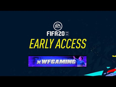 6,000 FIFA POINTS PACK OPENING!!! FIFA 20 EARLY ACCESS (FIFA 20) (LIVE STREAM)