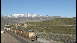 4K: SPRING TRAINS ON THE CAJON PASS (4/15/2020)