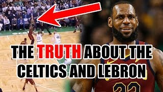 The TRUTH About The Celtics DEFENSE on LeBron In The NBA Playoffs