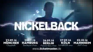 Nickelback - Live in Concert - Tour Trailer